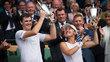 Jamie Murray e Martina Hingis ficaram com o título no torneio inglês