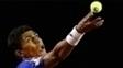 Thiago Monteiro durante jogo no circuito da ATP