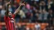 Muntari Comemora Gol Milan Chievo Campeonato Italiano 04/10/2014