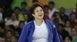 Laura Vargas Koch ficou com o bronze no judô