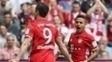Bayern de Munique, de Lewandowski e Thiago Alcântara, atropelou o Augsburg