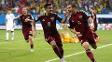 Kerzhakov comemora gol de empate contra a Coreia do Sul