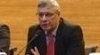 Coronel Marinho durante apresentação como novo chefe da arbitragem na CBF