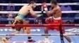 Yamaguchi Falcão durante luta com Morgan Fitch