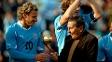 Um dos grandes nomes da história do futebol uruguaio, Ghiggia morreu nesta quinta-feira, no Uruguai