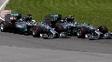 Número de ultrapassagens diminuiu na Fórmula 1; só briga Rosberg-Hamilton empolga
