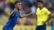 Gabriel Jesus comemora: atacante fez dois na vitória do Brasil sobre o Equador