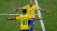 Diego Tardelli fez os dois gols da vitória do Brasil