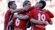 Koke Comemora Gol Atlético de Madri Granada Campeonato Espanhol 17/04/2016
