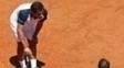 Nicolás Almagro abandonou contra Rafael Nadal em Roma
