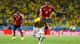 Colombiano Zuñiga lesionou Neymar em partida contra Colômbia, pelas quartas de final
