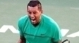 Nick Kyrgios Comemora Novak Djokovic Masters 1000 Indian Wells 15/03/2017