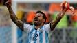 Lavezzi 'extravasa' após vitória da Argentina