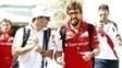 Felipe Massa e Fernando Alonso foram companheiros na Ferrari