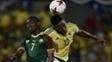 Mina anotou dois gols no amistoso da Colômbia diante de Camarões