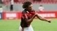 Willian Arão comemoram gol na vitória sobre o Vasco