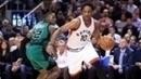 DeMar DeRozan foi o cestinha no duelo contra o Celtics