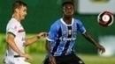 Lance do jogo entre Grêmio x Brasil-RS
