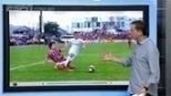 Sálvio diz que árbitro deixou de marcar pênalti para o Internacional; veja o lance