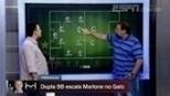 'Dupla BB' escala titulares do Atlético-MG e analisa espaço de Marlone na equipe