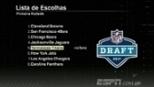 ESPN League analisa a ordem de escolhas do 1° round do draft da NFL