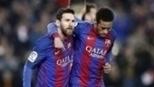 Messi faz de pênalti no fim, Barça sofre muito, mas vence Leganés