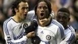 Ballack, Lampard e Drogba: com 3 golaços, Chelsea bateu Everton em grande jogo