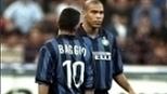 Roma saiu na frente, mas tomou a virada da Inter graças a Baggio e companhia
