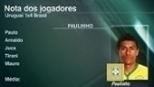Após três gols, Paulinho recebe nota 9,1 no 'Linha de Passe'