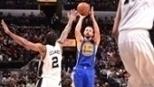Curry lidera virada, Warriors vencem Spurs e encaminham melhor campanha