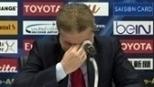 Síria vence e técnico chora em entrevista: 'É para todo o povo'