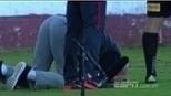 Técnico cai-cai? Bate bola repercute atitude de Zago em jogo do Internacional