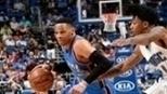 Westbrook decide com 57 pontos, e Thunder bate Magic na prorrogação