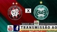 Transmissão do clássico Atletiba será feita por Facebook e Youtube