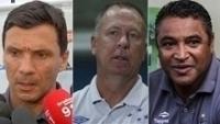 Zé Ricardo, Mano e Roger. Os treinadores dos times com melhor posição