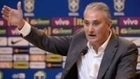 Técnico Tite durante a convocação para os amistosos contra Argentina e Austrália