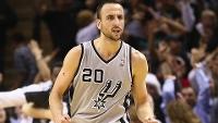 Ginobili atuará pelo San Antonio Spurs por mais uma temporada.