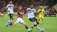 Flamengo e Atlético-GO ficaram no 0 a 0 na partida de ida