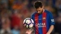 Messi, durante a partida contra o Eibar
