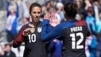 Seleção norte-americana soma pontos