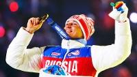 Alexander Legkov chegou a ganhar ouro nos 50km de esqui cross em Sochi-2014