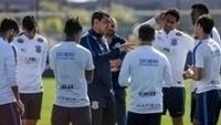 Fábio Carille apenas conversou com titulares em treino antes de Grêmio x Corinthians