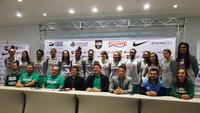 Apresentação da seleção brasileira de basquete feminino