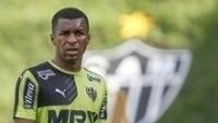 O equatoriano Erazo durante treino do Atlético-MG