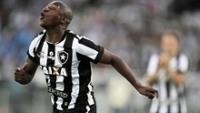 Sassá Comemora Gol Botafogo Resende Campeonato Carioca 02/04/2017