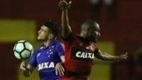 Sport e Cruzeiro empataram por 1 a 1 na Ilha do Retiro