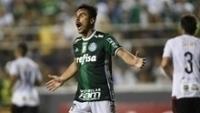 Willian durante a derrota do Palmeiras para o Ituano