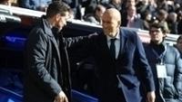 Simeone e Zidane indicaram no passado que gostariam de jogar em clubes rivais aos que defendem hoje