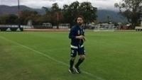Lesionado, Diego já inicia transição para os gramados