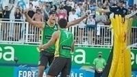 Álvaro e Saymon comemoram vitória no Majors de Fort Lauderdale